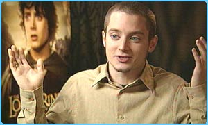 Elijah Wood talks to Newsround's Lizo Mzimba