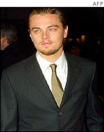 Leo Di Caprio, the star of the film