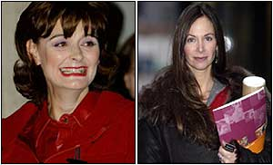 Cherie Blair; her friend and lifestyle coach Carole Caplin