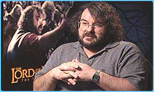 Peter Jackson, director of Two Towers