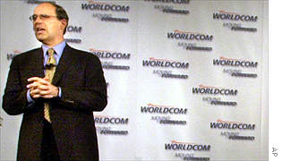 Newly named WorldCom chief executive Michael Capellas
