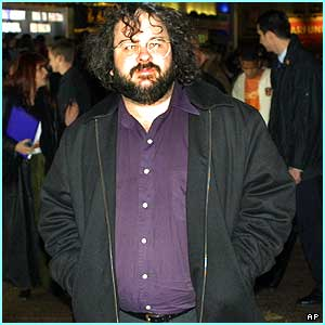Finally, Peter Jackson looked like he was a bit overwhelmed at the reception the fans gave him!
