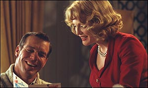Far From Heaven stars Julianne Moore and Denis Quaid