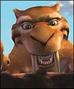Animated film Ice Age