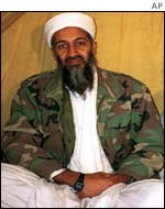 Bin Laden co-founded the al-Qaeda network