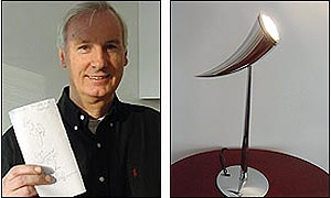 Landlord and Philippe Starck lamp