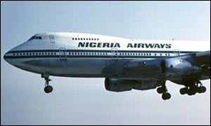 Nigeria Airways aircraft