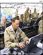 Computerised command-centre in Qatar