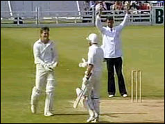 Graeme Hick plays Somerset at Taunton