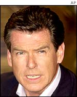 James Bond actor Pierce Brosnan