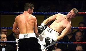 Calzaghe powers past Tocker Pudwill