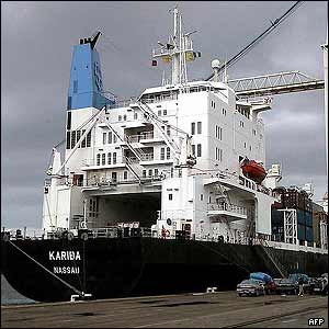 File picture of Kariba in Le Havre