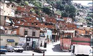 Caracas's gritty San Augustin Norte neighbourhood