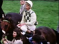Jockey Lester Piggott