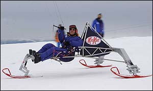 Ski-buggy on trial in Switzerland