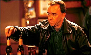 Todd Carty as Mark Folwer in Eastenders