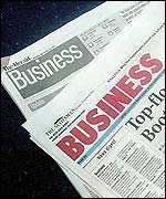 The Herald and The Scotsman business pages