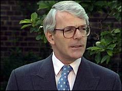 Photograph of John Major