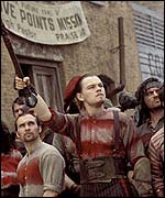 A scene from Gangs of New York