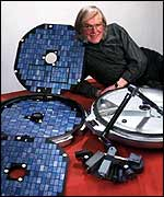 Colin Pillinger designed the interplanetary craft, PA