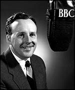Sir Jimmy Young pictured by the BBC in 1952