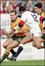 Campese frustrated England in the 1991 World Cup final
