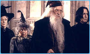 Richard Harris as Professor Dumbledore