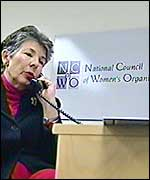Marth Burk, National Council of Women's Organisations