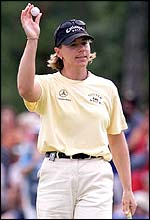 World number one Annika Sorenstam
