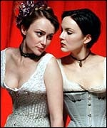 Keeley Hawes and Rachael Stirling