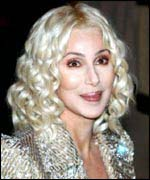Pop poll favourite, Cher