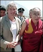 Gere with the Dalai Lama