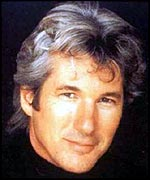 A smiling Richard Gere