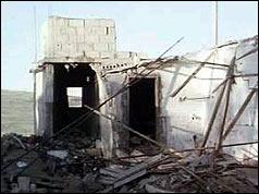 Ein El Helweh in ruins