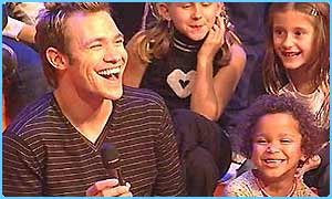 Will Young at Children in Need 2002