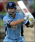 Steve Waugh batting for New South Wales