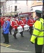 Apprentice Boys parade in Derry