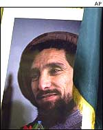 The late Northern Alliance commander Ahmed Shah Masood