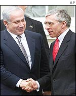 Binyamin Netanyahu and Jack Straw