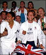England celebrates Ashes success in 1987