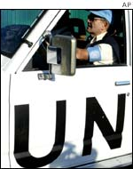 UN weapons inspector in Iraq