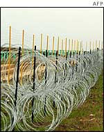 Israeli security fence