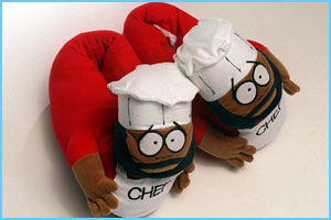 South Park novelty slippers