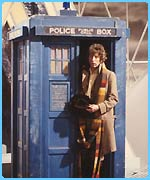 The tardis: it's bigger than it looks. Honest