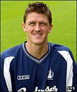 Falkirk defender Kevin James