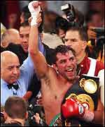 Oscar de lay Hoya, light middleweight champion
