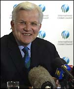 ICC chief executive Malcolm Speed