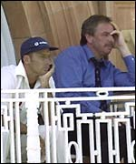 Nasser Hussain and David Graveney