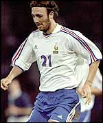 Christophe Dugarry of France