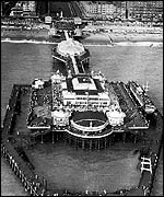 Brighton West Pier in 1938
